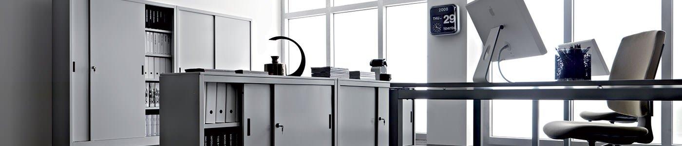 Arredi ufficio metallo mobili per ufficio milano for Arredi per ufficio milano