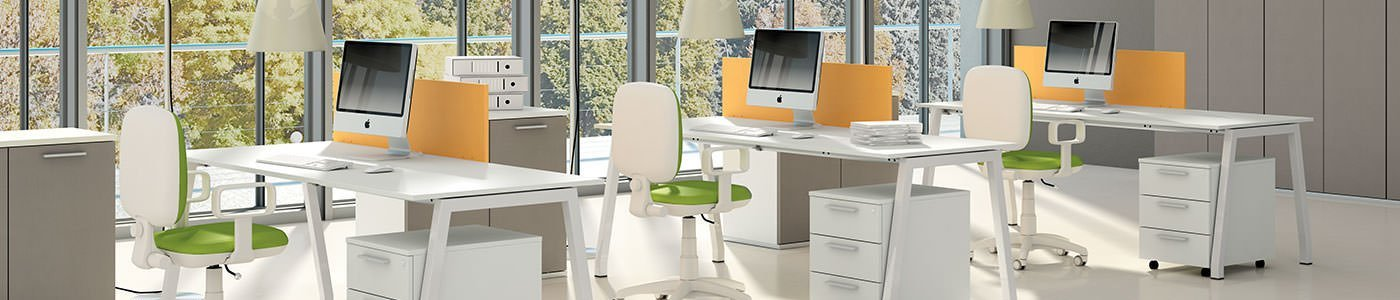 Mobili per ufficio operativo scrivanie ufficio milano for Arredi per ufficio milano