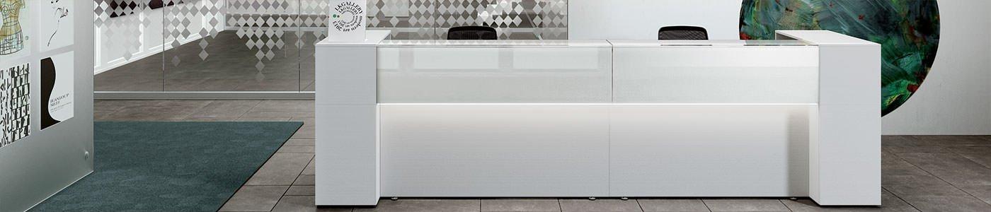 Reception per ufficio mobili per ufficio milano arredi for Mobili per reception
