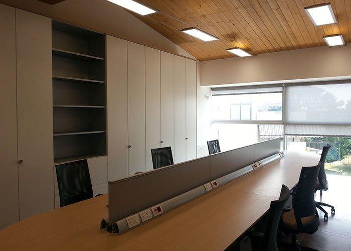 Insport srl case history di mobili per ufficio milano for Arredo ufficio milano