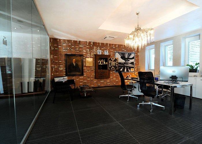 Valsecchi marmi case history di mobili per ufficio milano for Mobili ufficio milano