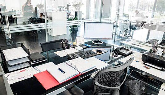 posta di lavoro ufficio