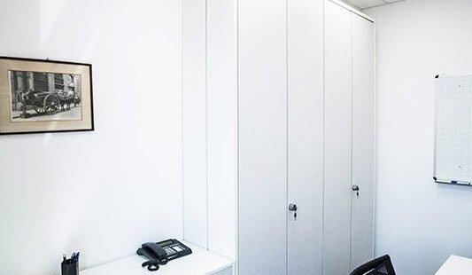 parete attrezzata ufficio