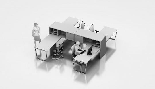 arredo ufficio moderno milano